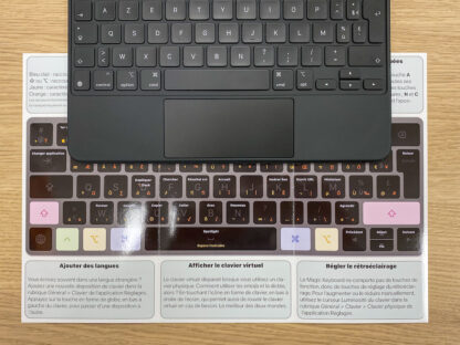 Guide express : clavier et trackpad sur iPad