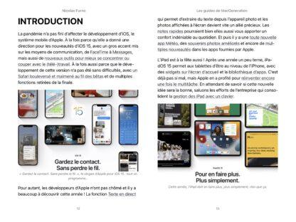 Les nouveautés d'iOS15